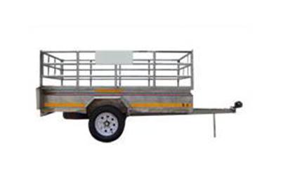 2,4m x 1,6 General purpose trailer